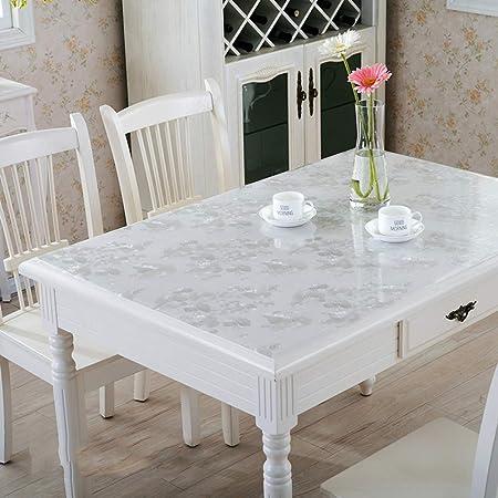 CNZXCO Impermeable PVC Manteles Salon Almohadilla Plástico ...
