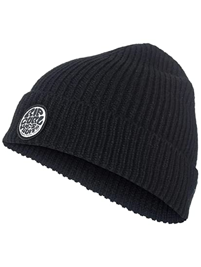 Amazon.com  Rip Curl DNA Beanie One Size Black  Clothing 87161b9fc523
