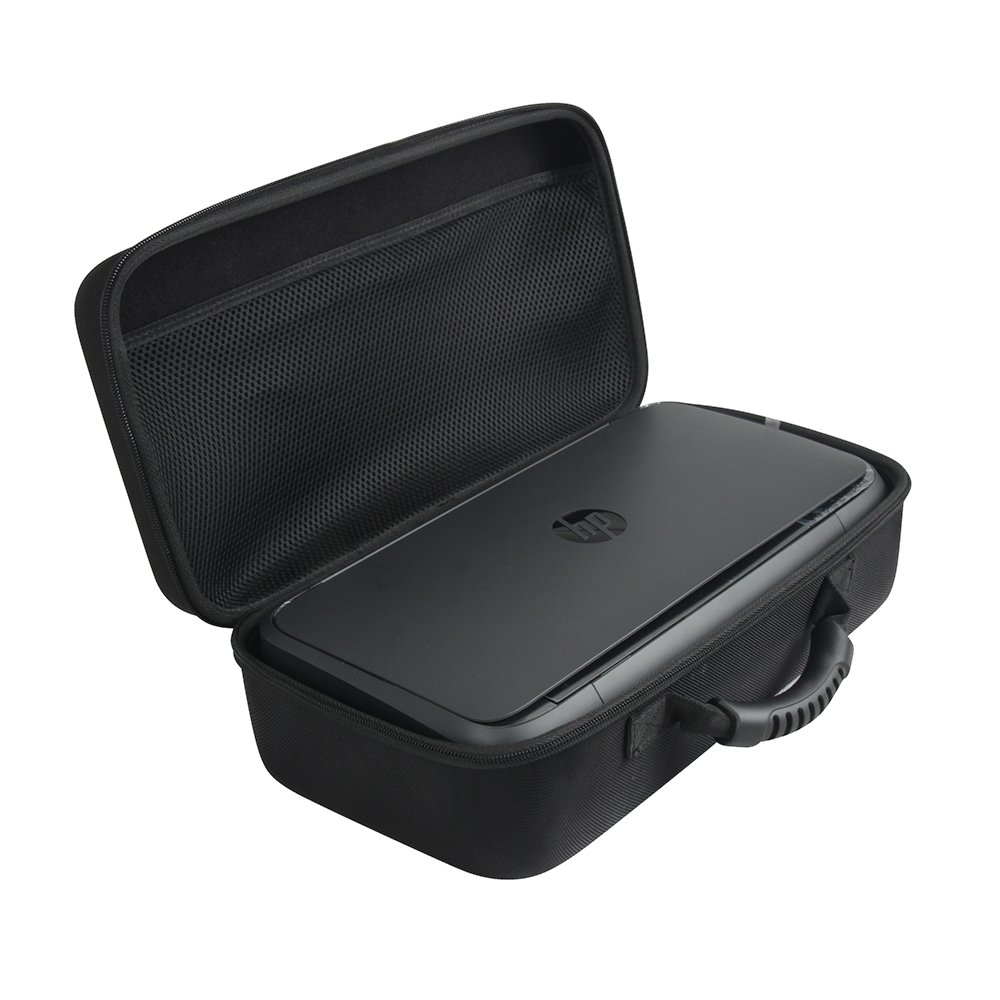 Anleo Hard Travel Case fits HP OfficeJet 250 All-in-One Portable Printer with Wireless & Mobile Printing (CZ992A)