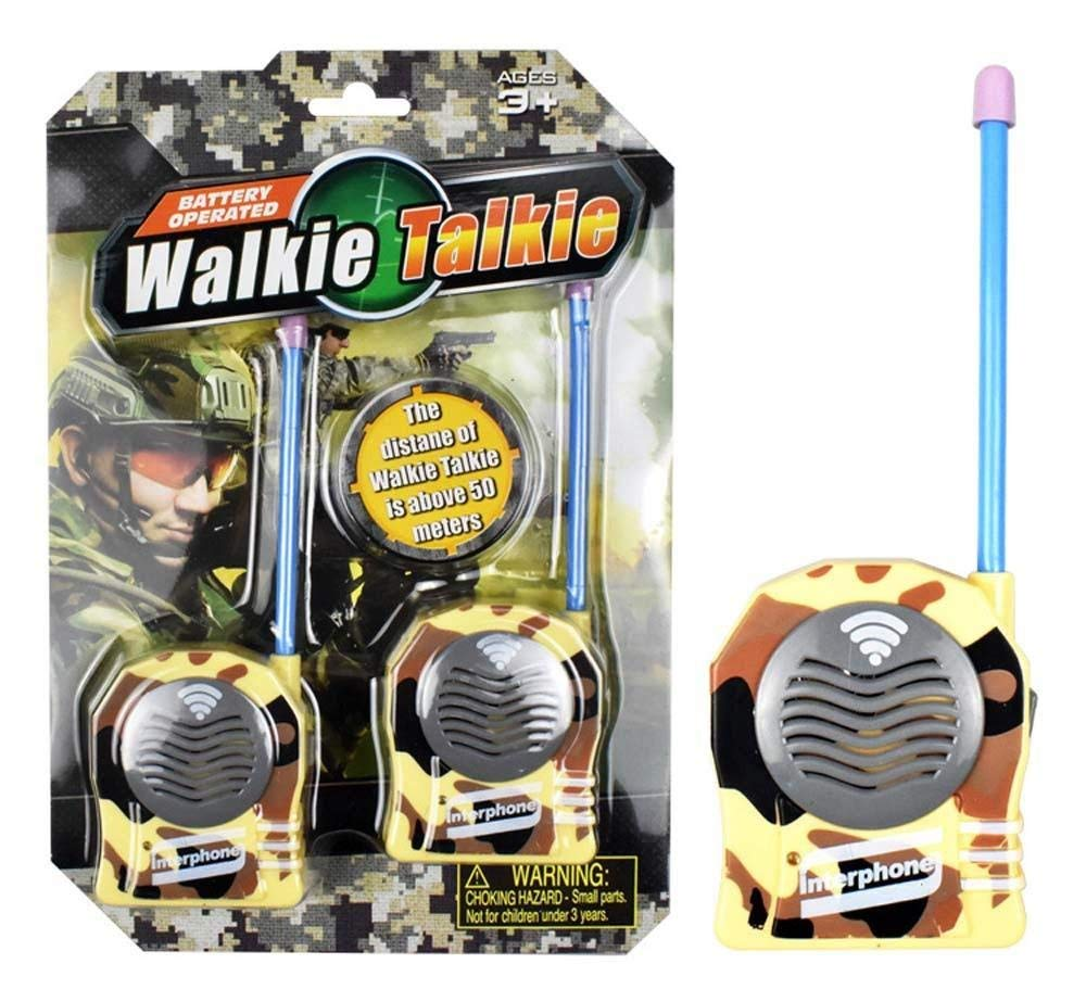 Yevison 2Pcs Wireless Walkie Talkie Kids Electronic Toys Portable Two-Way Radio Remote Intercom Phone Toy Camouflage Premium Quality
