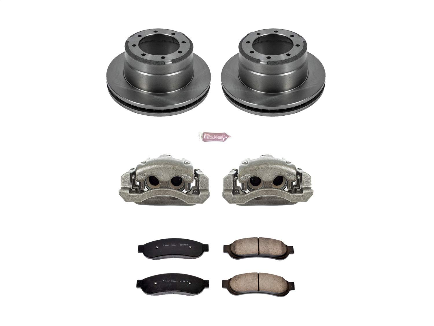 Power Stop KCOE4593 Autospecialty 1-Click OE Replacement Brake Kit with Calipers