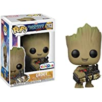 Pop Movie Gotg 2 Groot Holding Bomb Funko