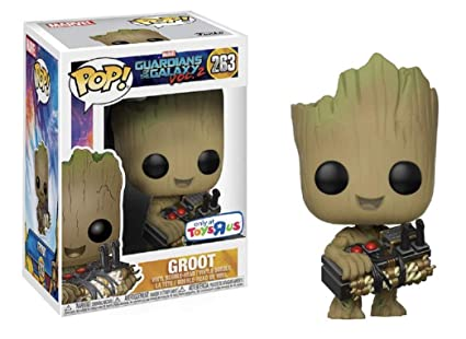 Funko Pop Gotg Baby Groot Con Detonador 263 Toys R Us Exclusive
