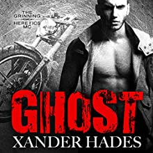 Ghost: The Grinning Heretics MC, Book 1 Audiobook by Xander Hades Narrated by Jay Lindenwood
