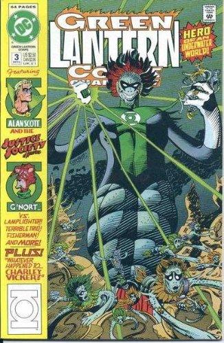 Read Online Green Lantern Corps Quarterly #3 pdf