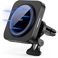 ESR HaloLock magnetische draadloze telefoonhouder autolader, compatibel met MagSafe autohouder, snellader en iPhone 13…