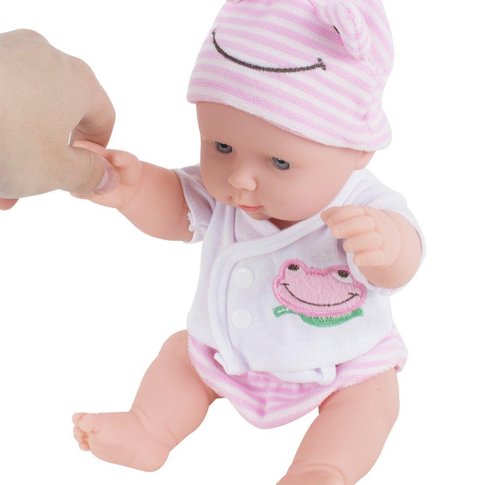 12 Inch Doll Lifelike Sound Laugh Cry Newborn Baby Toy Ebay