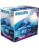 Philips BE2S2J10C/00 BD-RE Rohlinge 2x 25GB  10er Jewel Case