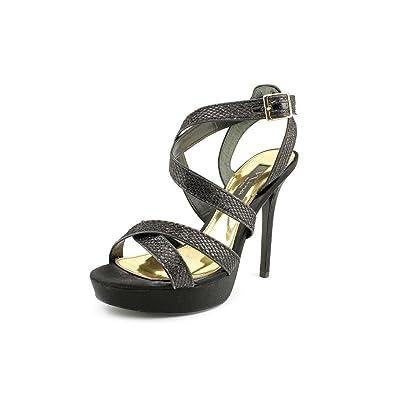 Nina Womens JacalynCG Platform Sandal Black Size 100
