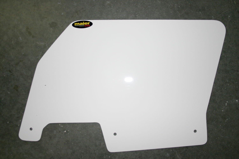 RZR XP-4 1000 Rear Number Plates Maier Polaris RZR XP 1000 ~White pr