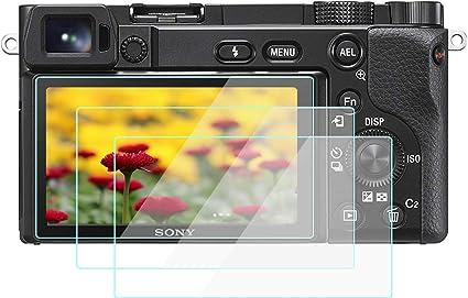 A6600 Displayschutzfolie Für Sony Alpha A6600 A6400 A6300 A6100 A6000 3 Stück Wh1916 Gehärtetes Glas Schutzfolien Cover Elektronik
