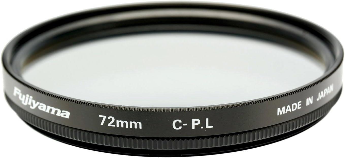 Fujiyama 72mm Circular Polarizing Filter for Sony Distagon T FE 35mm F1.4 ZA Made in Japan