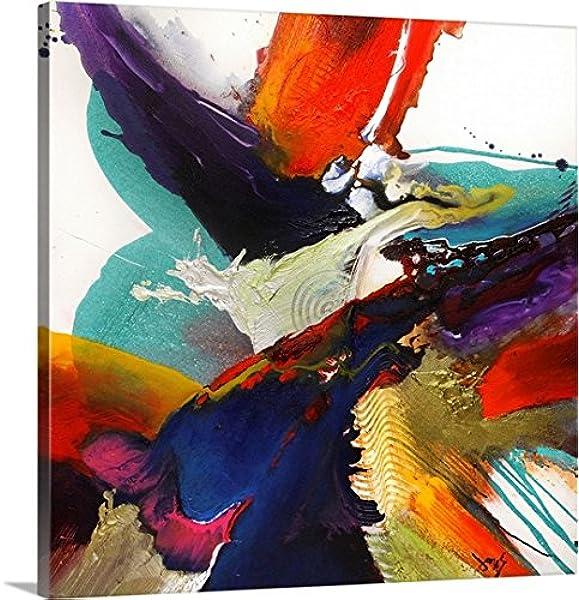 Greatbigcanvas Jonas Gerard Premium Flourish I Canvas Wall Art 20 X 20 None Posters Prints Amazon Com