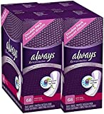 Always Pantiliner Max Protection Extra Long Dri-Liners, Unscented - 68 ct - 2 pk