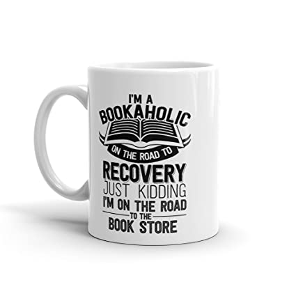 dcdc8d4c4bc Amazon.com: BOOKAHOLIC MUGS, Book Lovers Gifts, For Reading Addicts ...