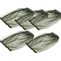 CLISPEED 5pcs Mosquito Head Net Face Mesh Net Head Protecting Cover for Mosquito Gnat and Other Flies Bug Net Outdoor…