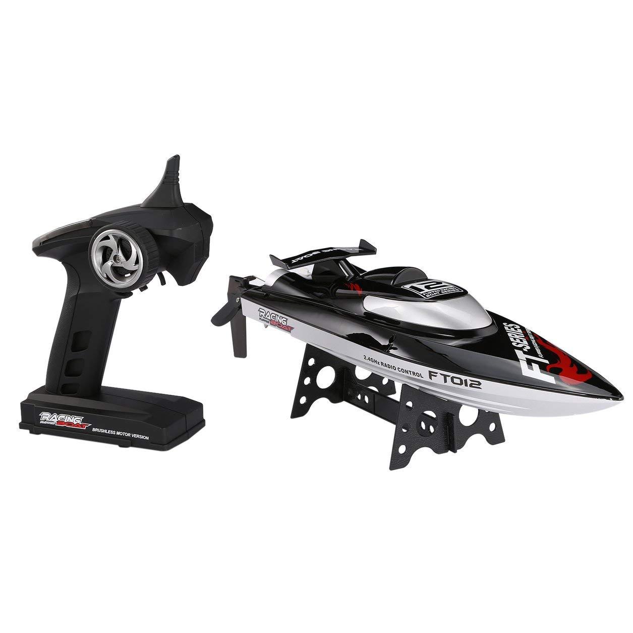 Feilun FT012 45km / hハイスピードブラシレスモーターレーシングボートフリップウォータークーリング B07GKTCNC7