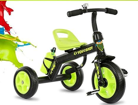 Triciclo de los niños, bicicleta bicicleta carrito de bebé 1-3-4 ...