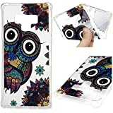 Galaxy Note 9 Case, Soft TPU Case Embossed Kawaii Colorful...