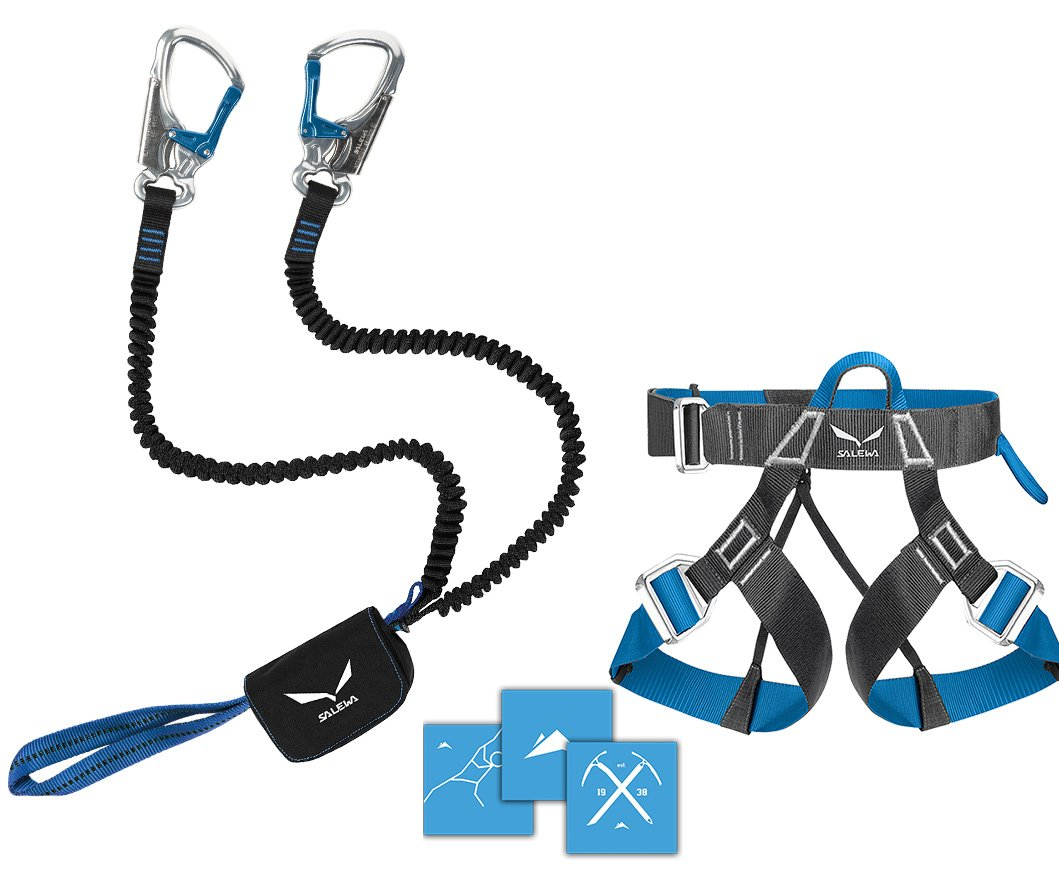 FERRATA SALEWA Prime attac + CEINTURE via ferrata EVO