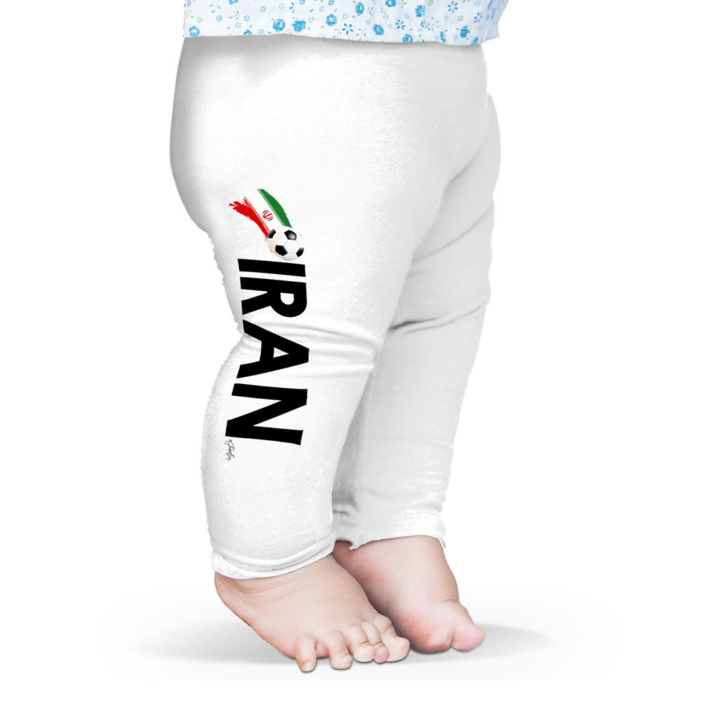 TWISTED ENVY Baby Pants Iran Football Soccer Flag Paint Splat