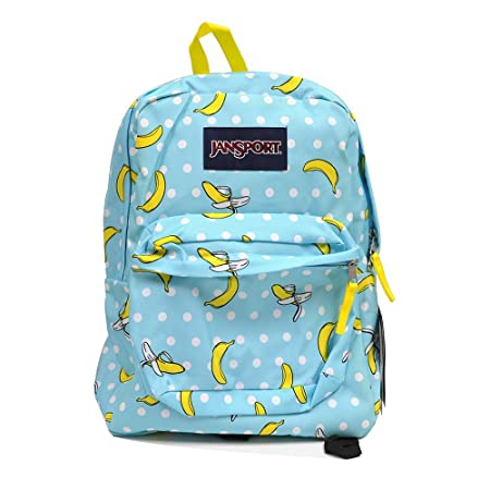 Classic Jansport Superbreak Backpack Blue Tropaz Oh Bananas T5010DR