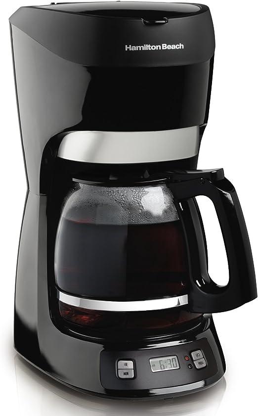 Hamilton Beach 49467 Independiente Manual - Cafetera (Independiente, Cafetera de filtro, Cápsula de café, Negro): Amazon.es: Hogar
