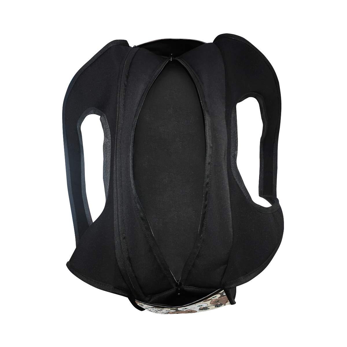 Unisex Travel Duffels Gym Bag Cute Cartoon Cat Canvas Weekender Bag Shoulder Bag Totes bags