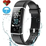 Techarooz Fitness Tracker, 14 Sports Mode Color Display Screen Activity Tracker with Heart Rate Monitor Smart Watch, Waterproof Wristband with Calorie Counter Pedometer for Kids Women Men