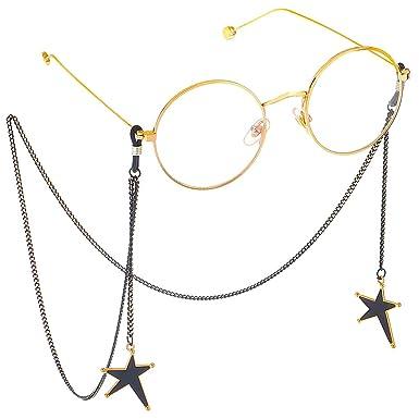 Yunso - Gafas de sol con cadena para gafas de sol, correa ...