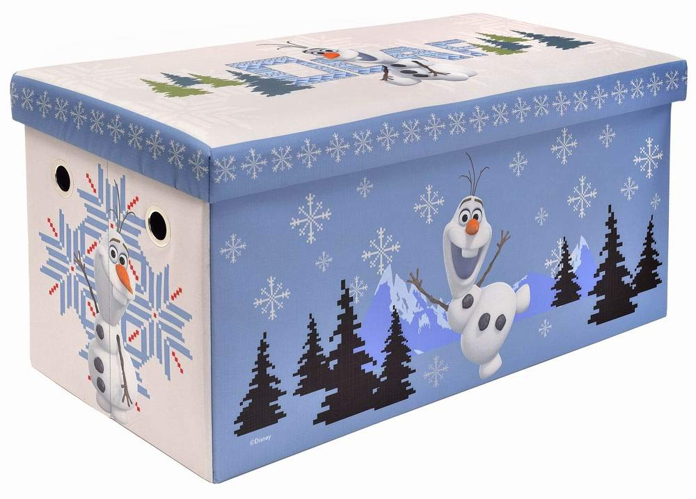 Frozen Olaf Storage Bench and Toy Chest, Officially Licensed, Perfect for any Playroom or Bedroom