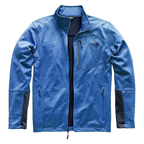 The North Face Men's Canyonlands Full Zip Turkish Sea Heather 1 XX-Large