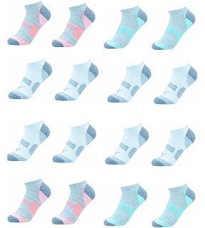 2d3788beeb92 PUMA Women s 6 Pack Low Cut Socks at Amazon Women s Clothing store