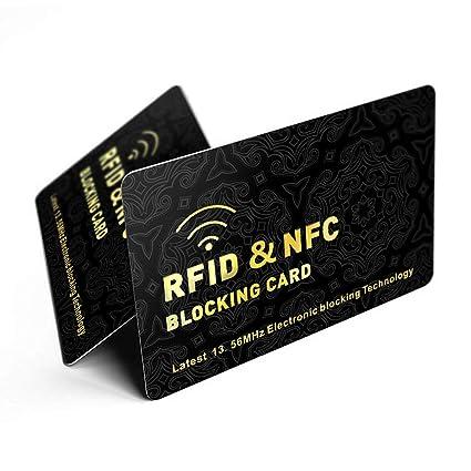 Tarjeta de bloqueo RFID/NFC | Protección de tarjetas sin ...