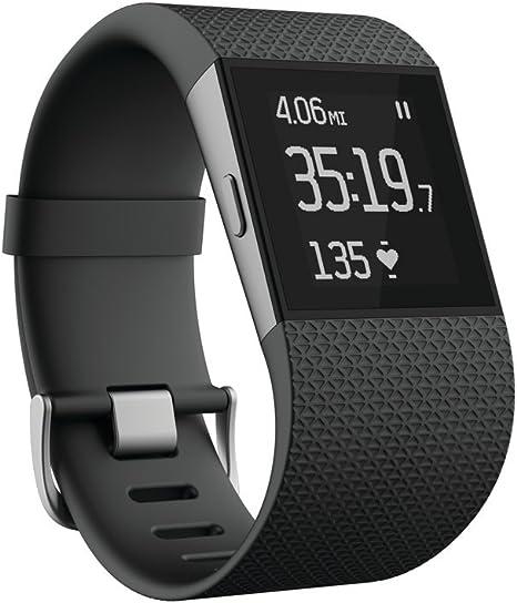 Amazon.com: Fitbit Surge Fitness Superwatch, Black, Large (US ...