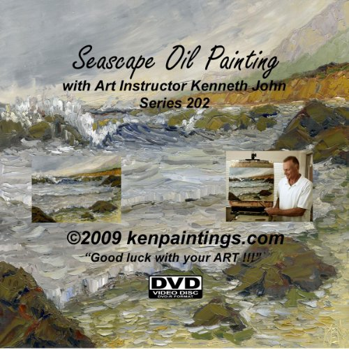 Free Seascape Oil Painting 202