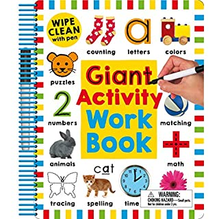 Wipe Clean: Giant Activity Workbook (Wipe Clean Activity Books)