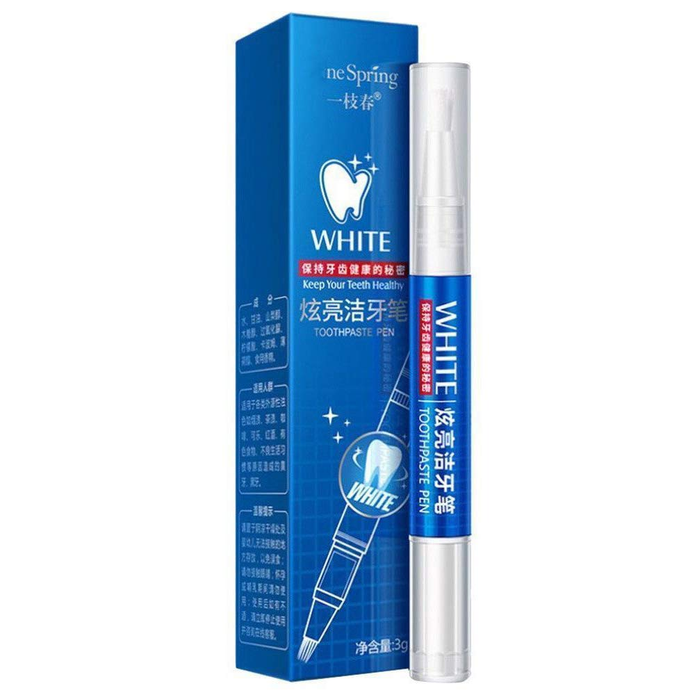 Colorcasa Dental Teeth Whitening Pen, Instant Whitening, Perfect Smile White Teeth, BLEACHING 3g