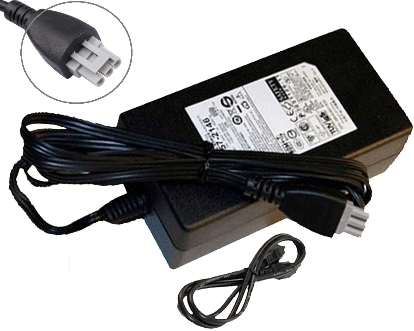 UpBright +32V +16V AC Adapter Replacement for HP 0957-2231 0950-4401 0957-2084 Photosmart C3140 C3150 C3180 C3183 C4180 C4280 C5240 C5275 C5550 C5580 C5570 PSC 2510xi 1610 1510s 1315xi OfficeJet 6310v