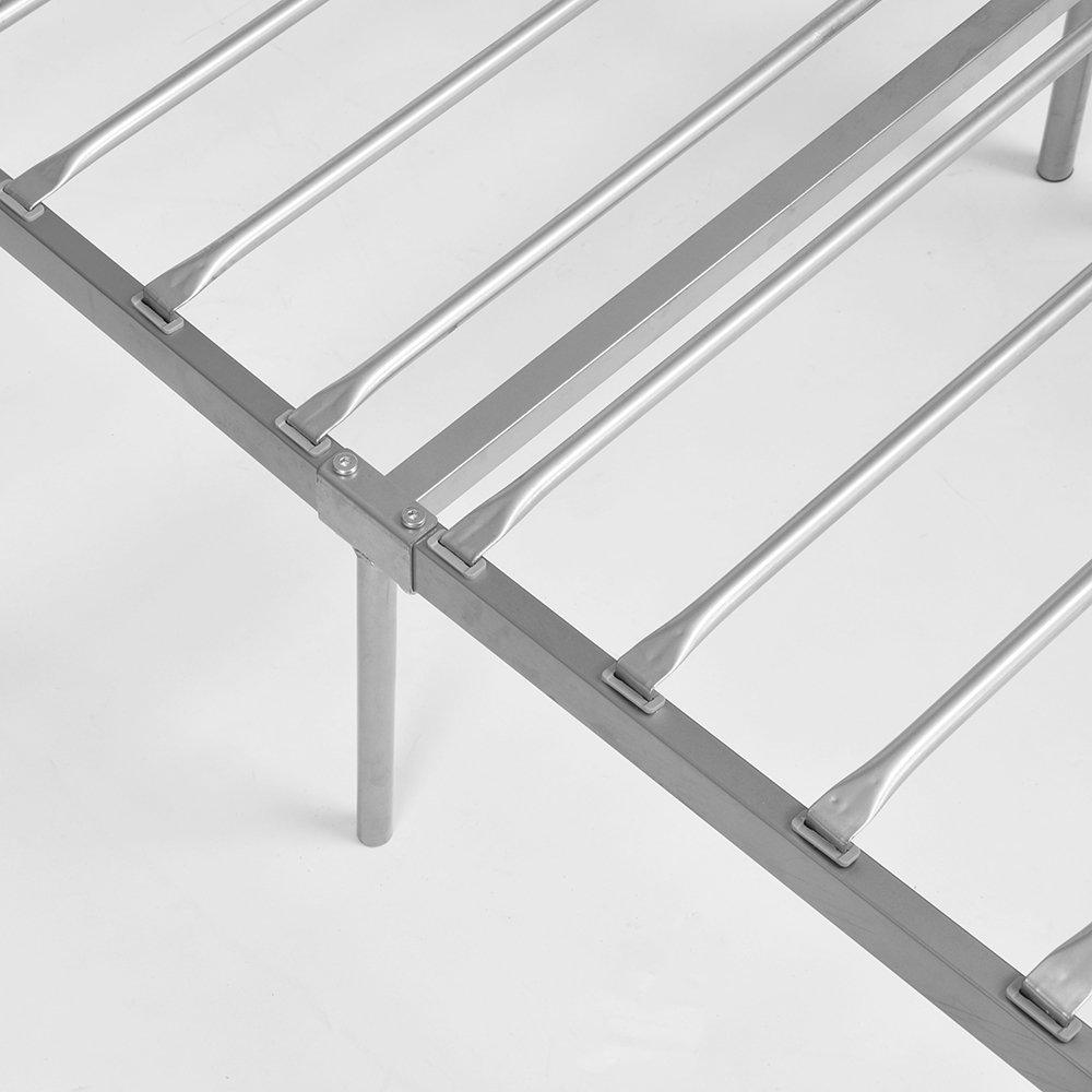 Amazon.de: DORAFAIR Doppelbett Metallbett Metall Rahmen Bett ...
