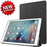 【ShineZone】iPad Pro 9.7 専用保護ケース 超薄型 高級PUレザー・三つ折・スタンド機能 (ブラック)