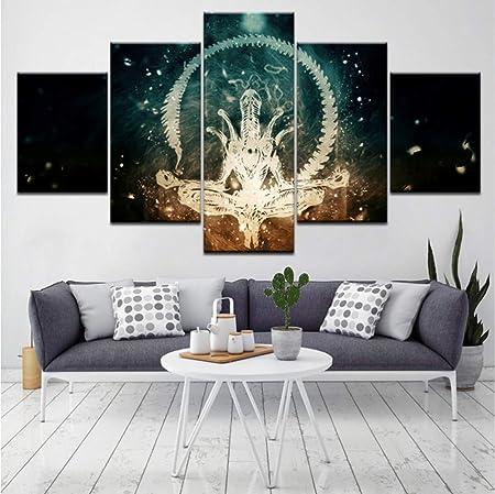 hlonl (Sin Marco) Alien Zen 5 Unidades HD Wallpapers Arte ...