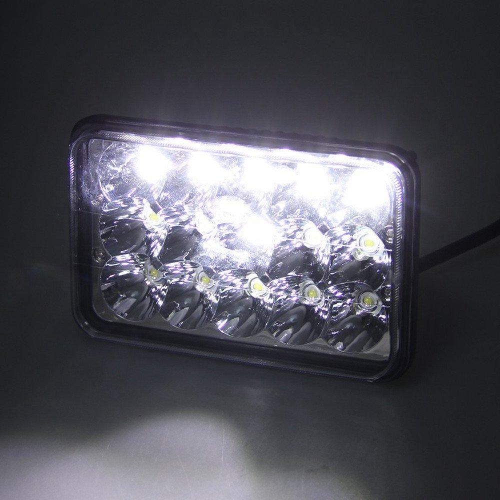4x led headlights bulb for kenworth t800 t400 t600 w900b w900lclassic 120 132 ebay. Black Bedroom Furniture Sets. Home Design Ideas