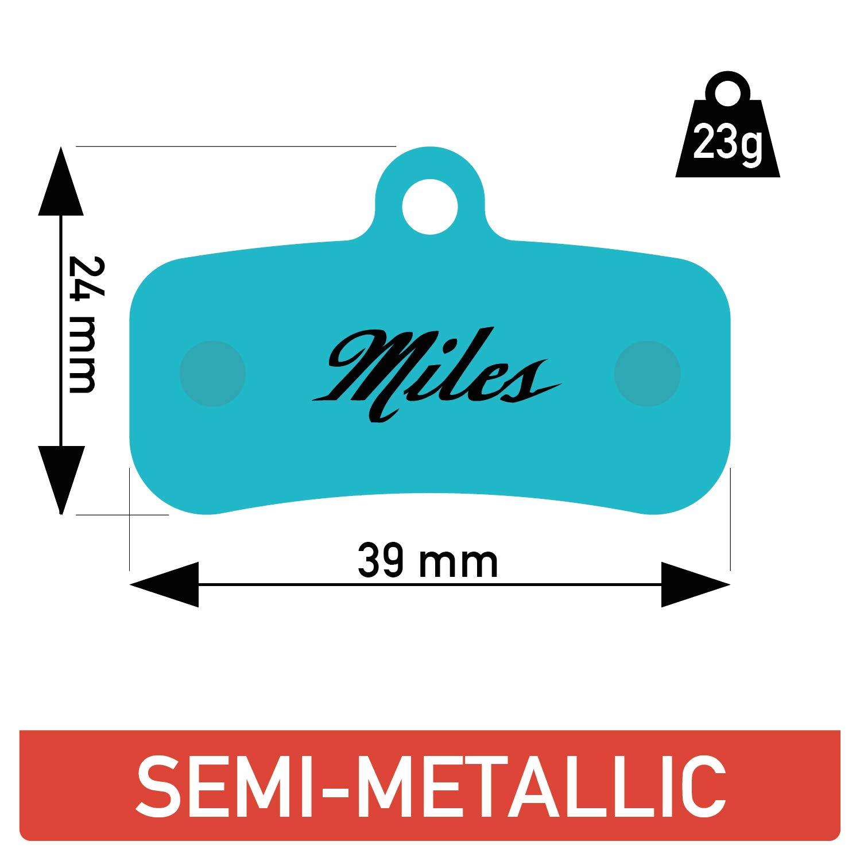 Shimano Zee Miles de pastillas de frenos met/álico semi Shimano new Saint 2009 BR-M810