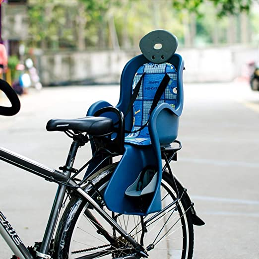 WYYZSS Safe Trasero Deluxe Sillita Portabebé Bicicleta, Bebé-Niños ...