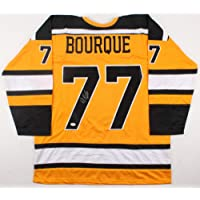 $369 » Authentic Autographed Ray Bourque Boston Bruins Yellow Jersey (JSA) NHL Playing Career 1979 2001