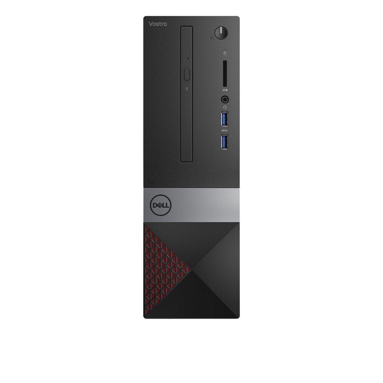 DELL Vostro 3470 3,2 GHz 8ª generación de procesadores Intel® CoreTM i7 i7-8700 Negro, Gris, Rojo SFF PC - Ordenador de sobremesa (3,2 GHz, 8ª generación de ...