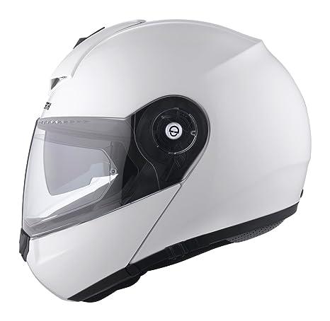 437b97388422d SCHUBERTH C3 PRO Glossy White Casco Modulare (L