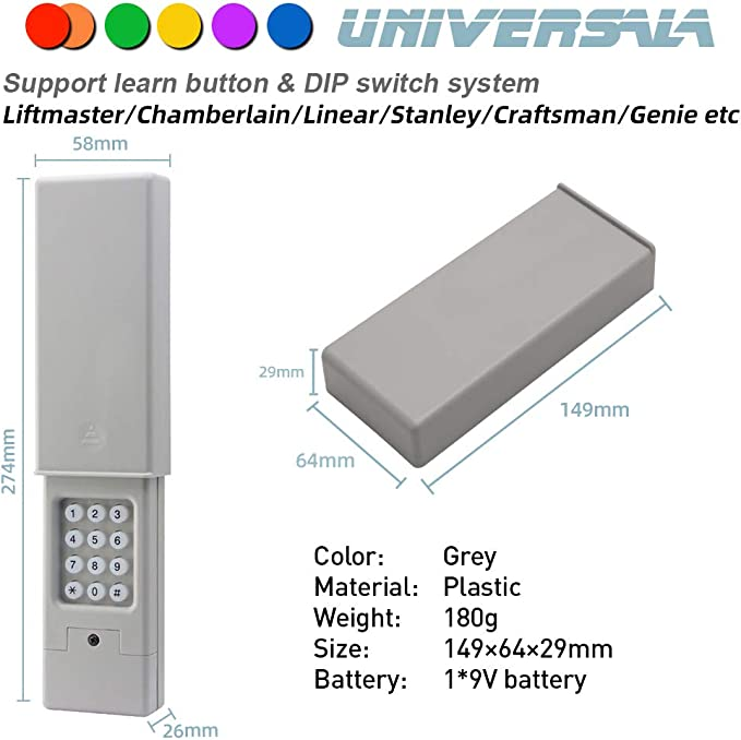 Chamberlain Clavier sans fil