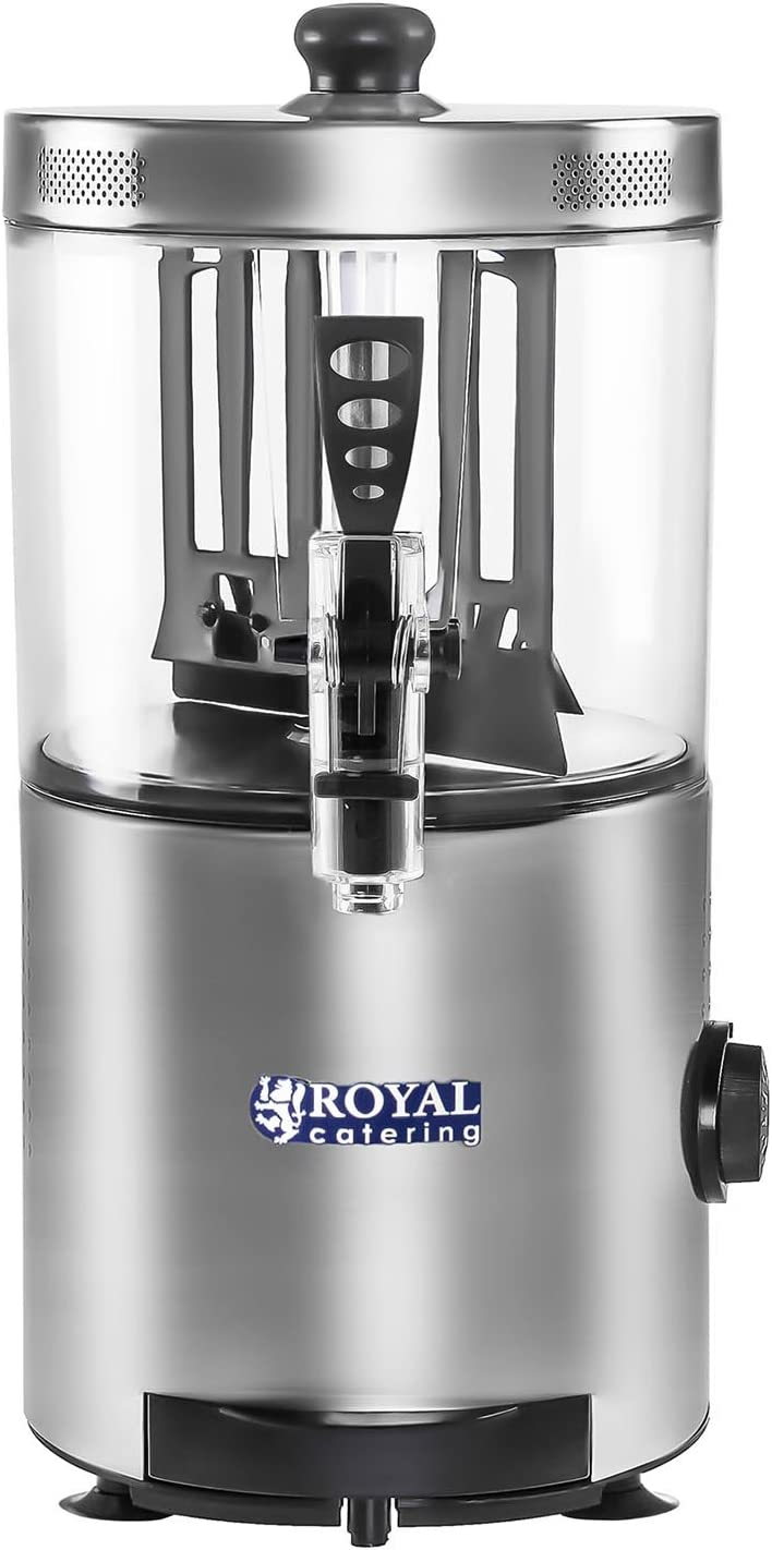Royal Catering - RCSS-3 - Dispensador de chocolate - 3 Litros - 1200 watt: Amazon.es: Hogar